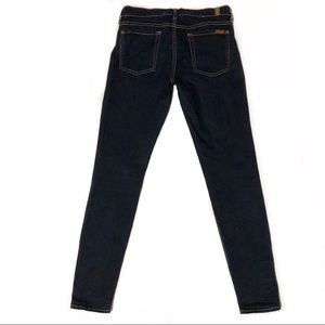 7 For All Mankind Jeans - 7 For All Mankind Dark Wash Skinny Jeans